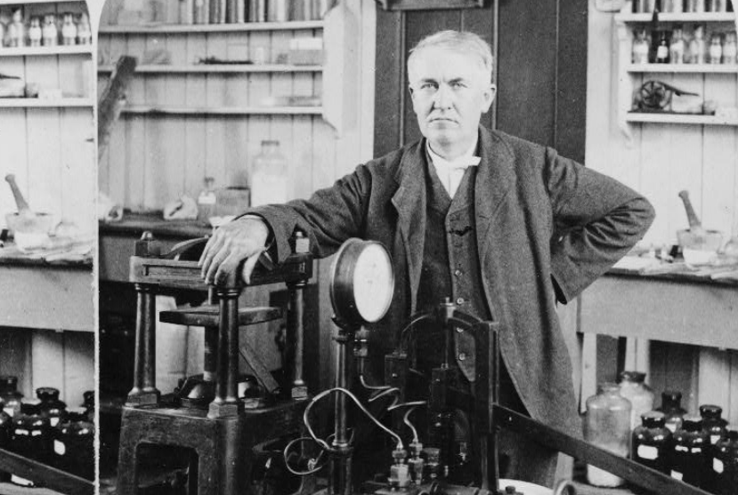 Thomas Edison remains the poster child of American invention 89 years after his death. Underwood & Underwood via the Library of Congress